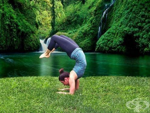 Най-трудните йога пози - изображение