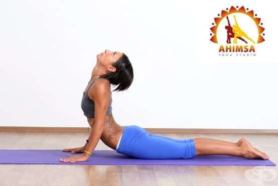 3 ефективни йога пози при дискова херния - изображение