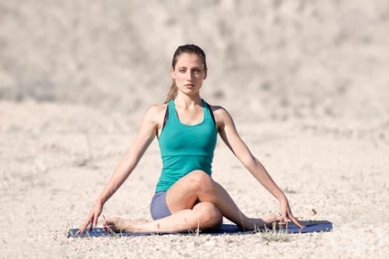 Йога  в борбата с целулита - изображение