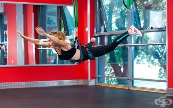 Бънджи фитнес тренировка - изображение