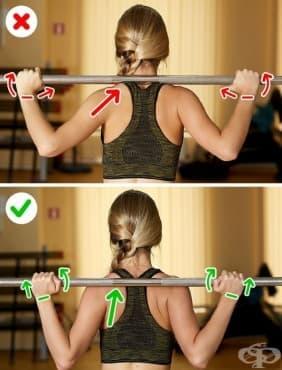 Тренировъчни грешки, които са потенциално опасни за здравето ви - изображение