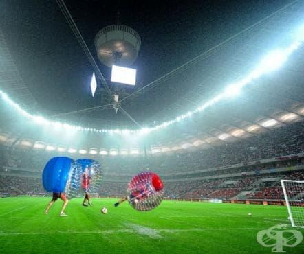Зорб футбол - изображение