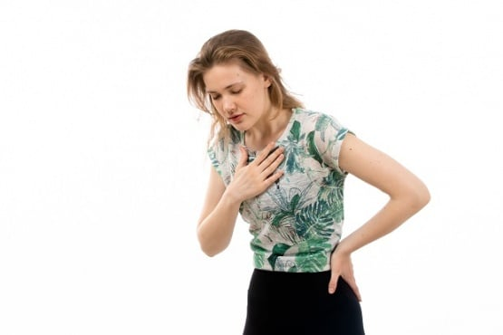 Затруднено дишане - изображение