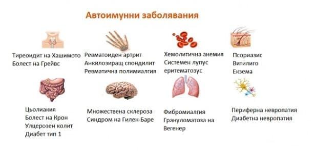 Автоимунни заболявания - изображение