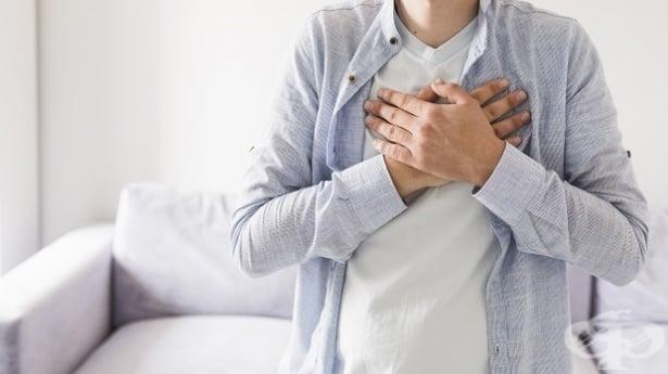Болка в гръдната област - изображение