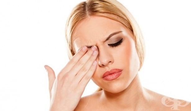 Болка в областта около веждата - изображение
