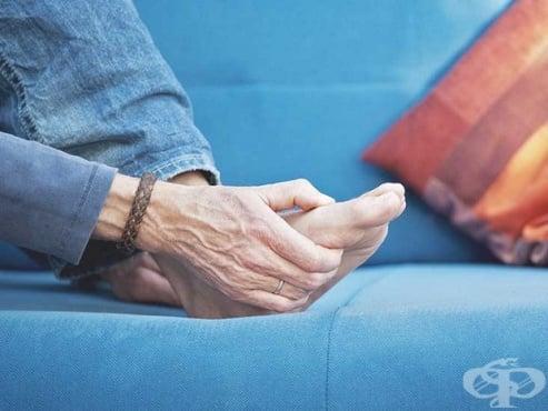 Болка в основата на палеца на крака - изображение