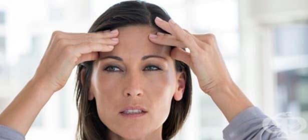 Болка в областта на челото - изображение