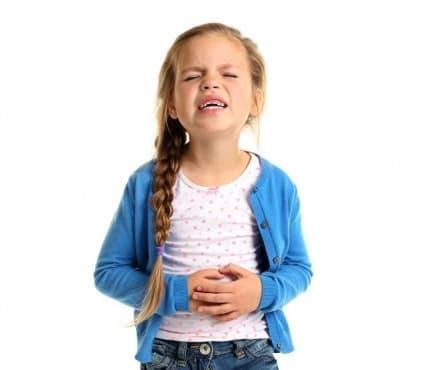 Газове при деца - изображение