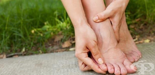 Изтръпване на пръстите на краката - изображение