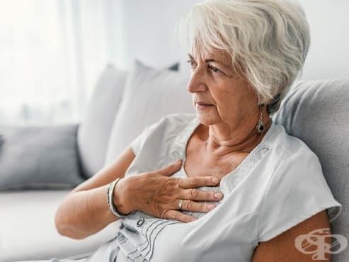 Парене в областта на гърдите - изображение