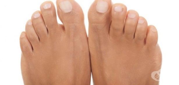 Подуване на пръста на крака - изображение