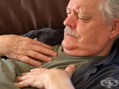 Поява на задух в легнало положение - изображение