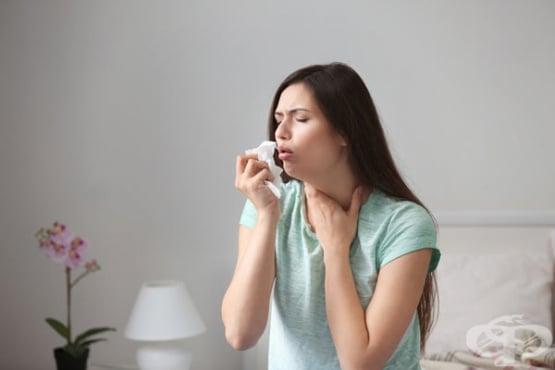 Спастична кашлица - изображение