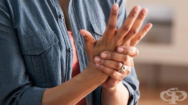 Спазъм на пръстите на ръцете - изображение