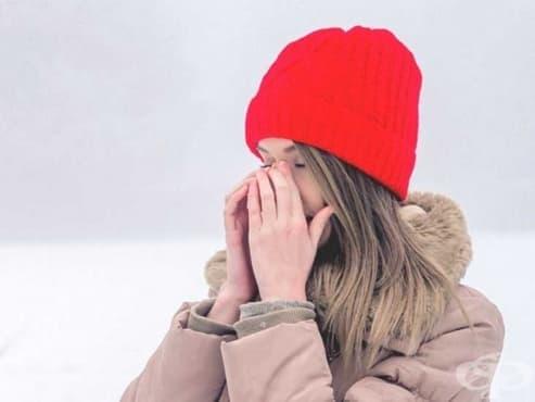 Усещане за студено по носа - изображение