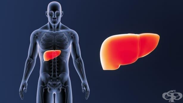 Възпаление на черния дроб - изображение
