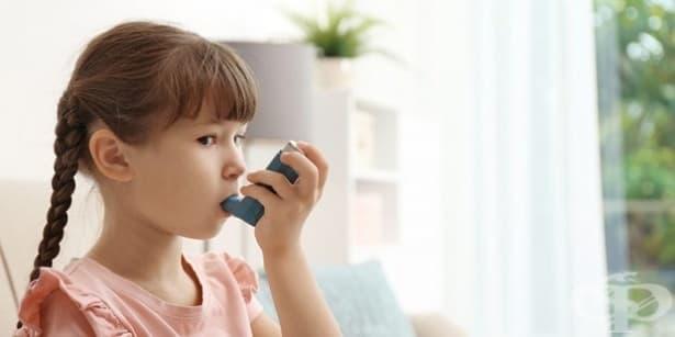 Затруднено дишане при деца - изображение