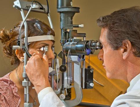 Гониоскопия - изображение