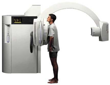 Рентгеново изследване на бял дроб - изображение