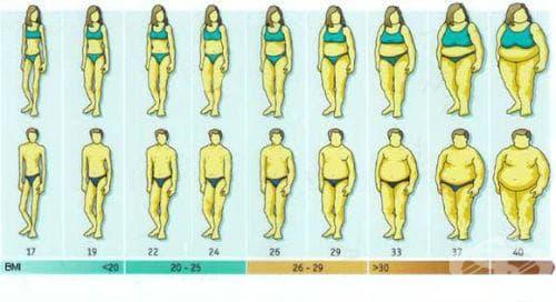 Индекс на телесната маса (ИТМ) - изображение