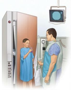 Рентгеново изследване на горния отдел на стомашно-чревния тракт - изображение