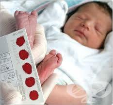 Скринингови тестове при новородени - изображение