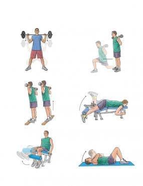 Упражнения за укрепване на мускулите - изображение
