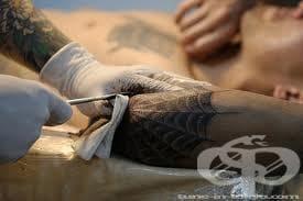 Избягване на правенето на татуировка с нехигиенични методи - изображение