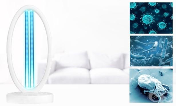 Дезинфекция на въздуха с ултравиолетова бактерицидна лампа - изображение