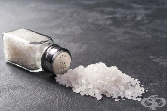 Диета с ниско съдържание на сол - изображение