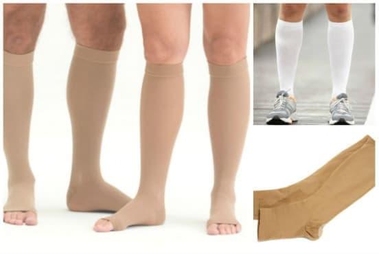 Еластични чорапи - изображение