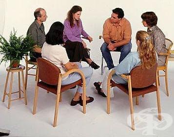 Групи за подпомагане при алкохолна зависимост - изображение