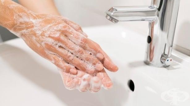 Измиване на ръцете - изображение