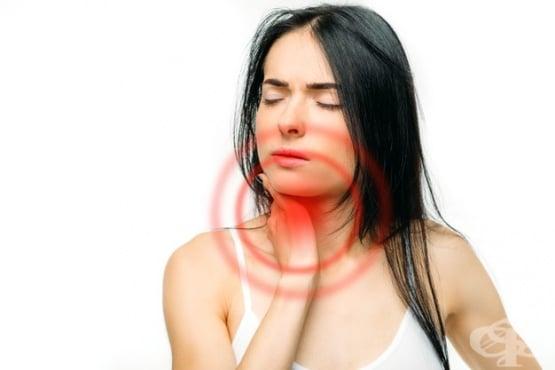 Лечение при ангина (остър тонзилит) - изображение
