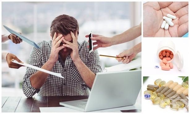 Лекарства и добавки срещу нервно напрежение и стрес - изображение