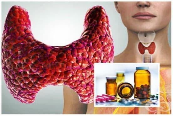 Лекарства за щитовидната жлеза - изображение