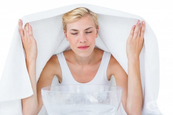 Парна инхалация - изображение
