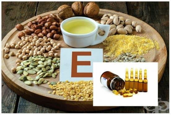 Полезни ефекти на витамин Е - изображение