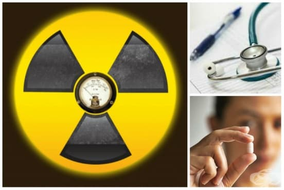 Радиация: лечебни мерки - изображение
