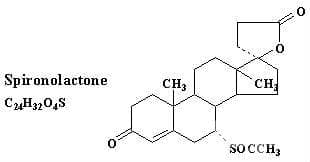 Спиронолактон - изображение