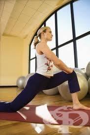 Стречинг упражнения - изображение