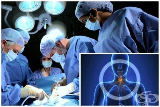 Тиреоидектомия (отстраняване на щитовидната жлеза) - изображение