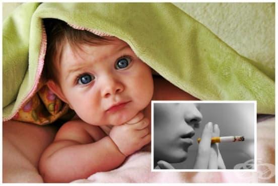 Тютюнопушене и кърмене - изображение