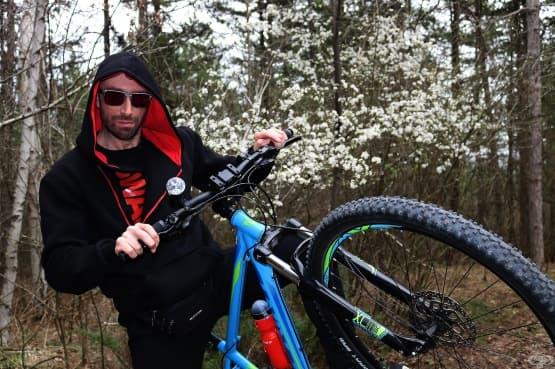 Мартин Гергов - Първа пролетна тренировка с велосипед - изображение