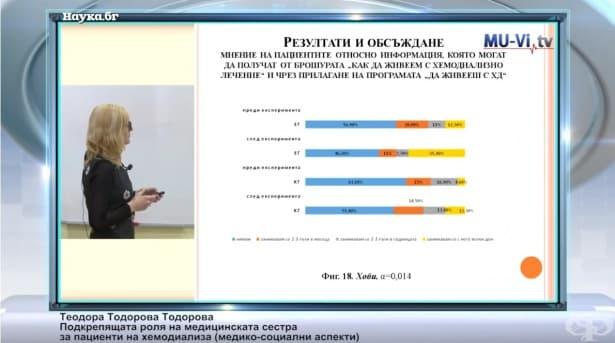 Теодора Тодорова:Медико-социални аспекти на ролята на медицинската сестра за пациенти на хемодиализа - изображение