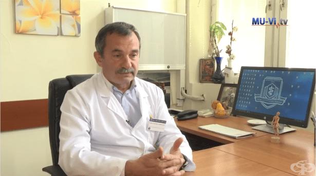 Проф. д-р Димитър Райков - Контрол на подаграта (царската болест) - интервю - изображение
