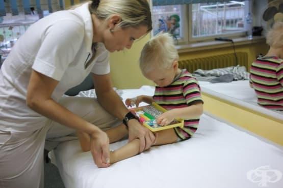 Войта терапията стимулира двигателните способности на децата със затруднения в движението - изображение